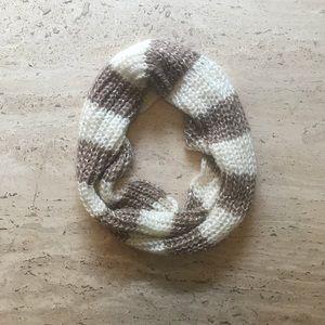 Rue21  tan/cream/white infinity scarf